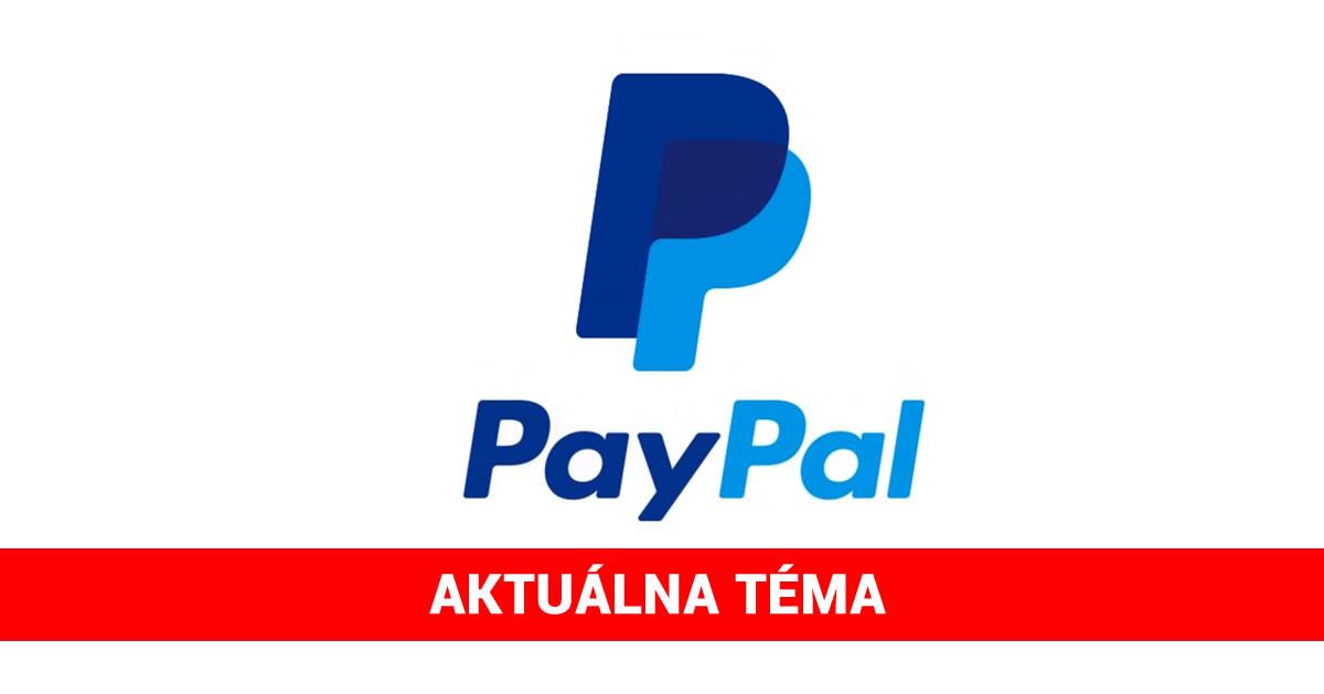 paypal aktualne