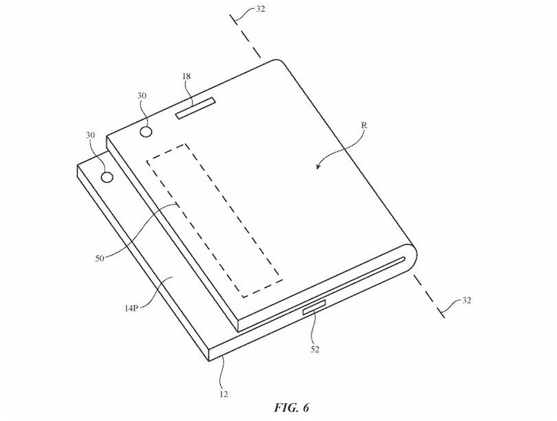 skladaci iphone patent