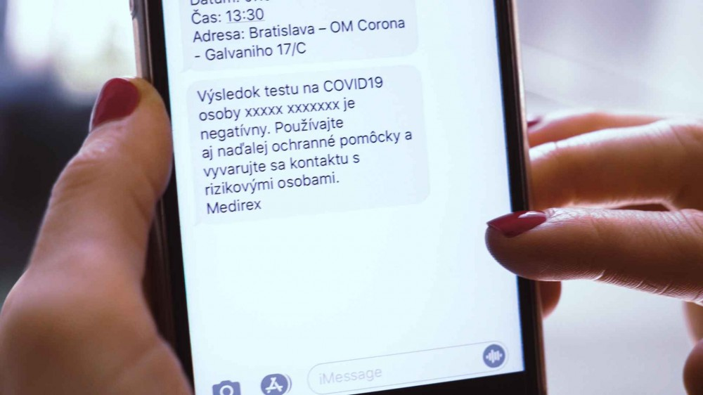 sms covid