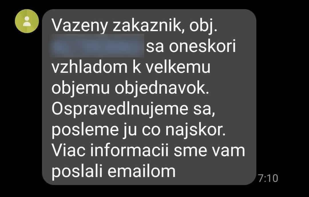 Alza SMS