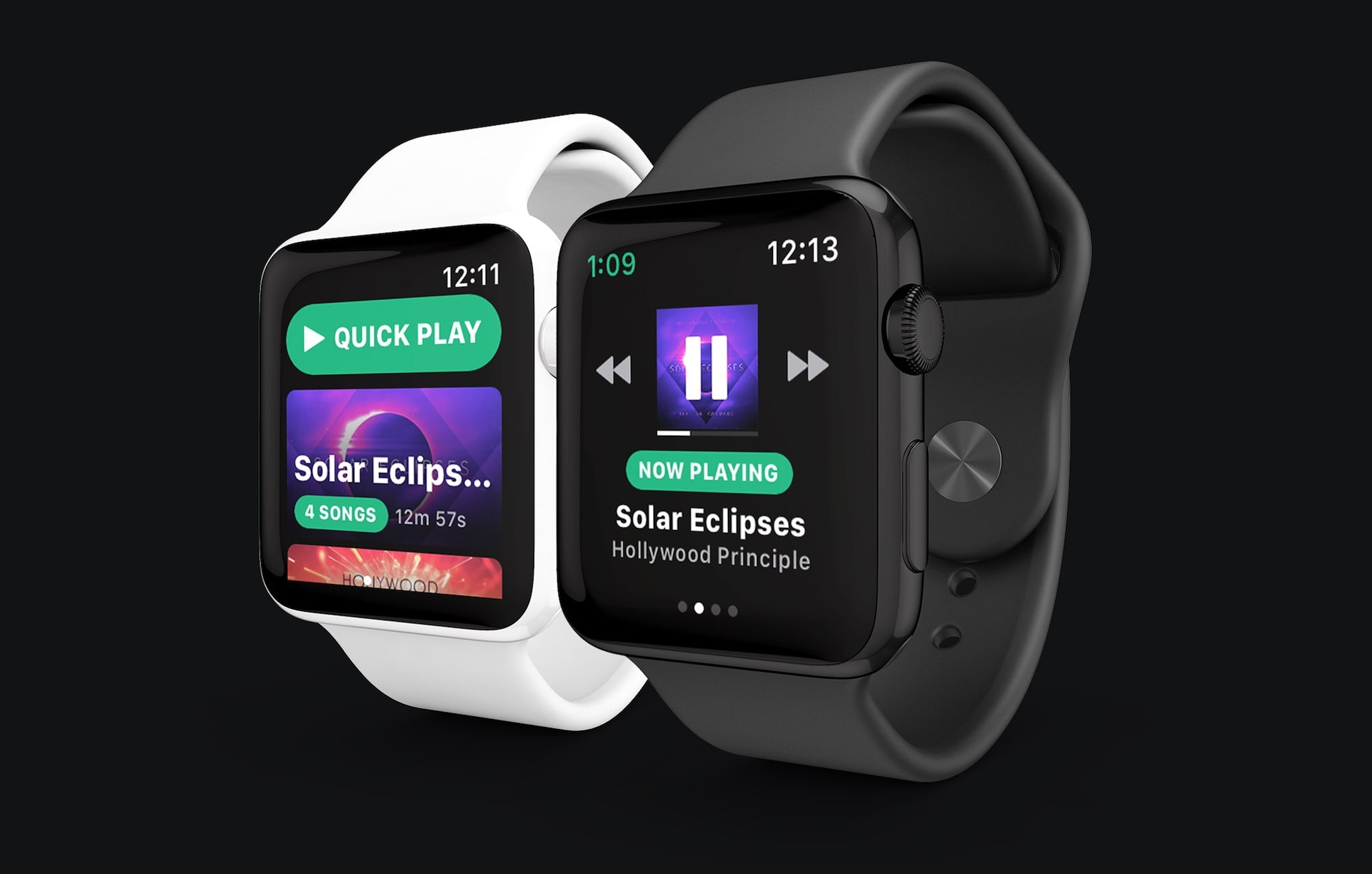 apple watch spotify tit