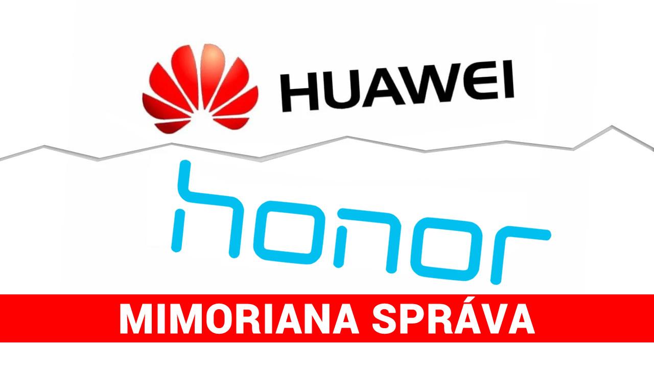 honor huawei mimoriadne