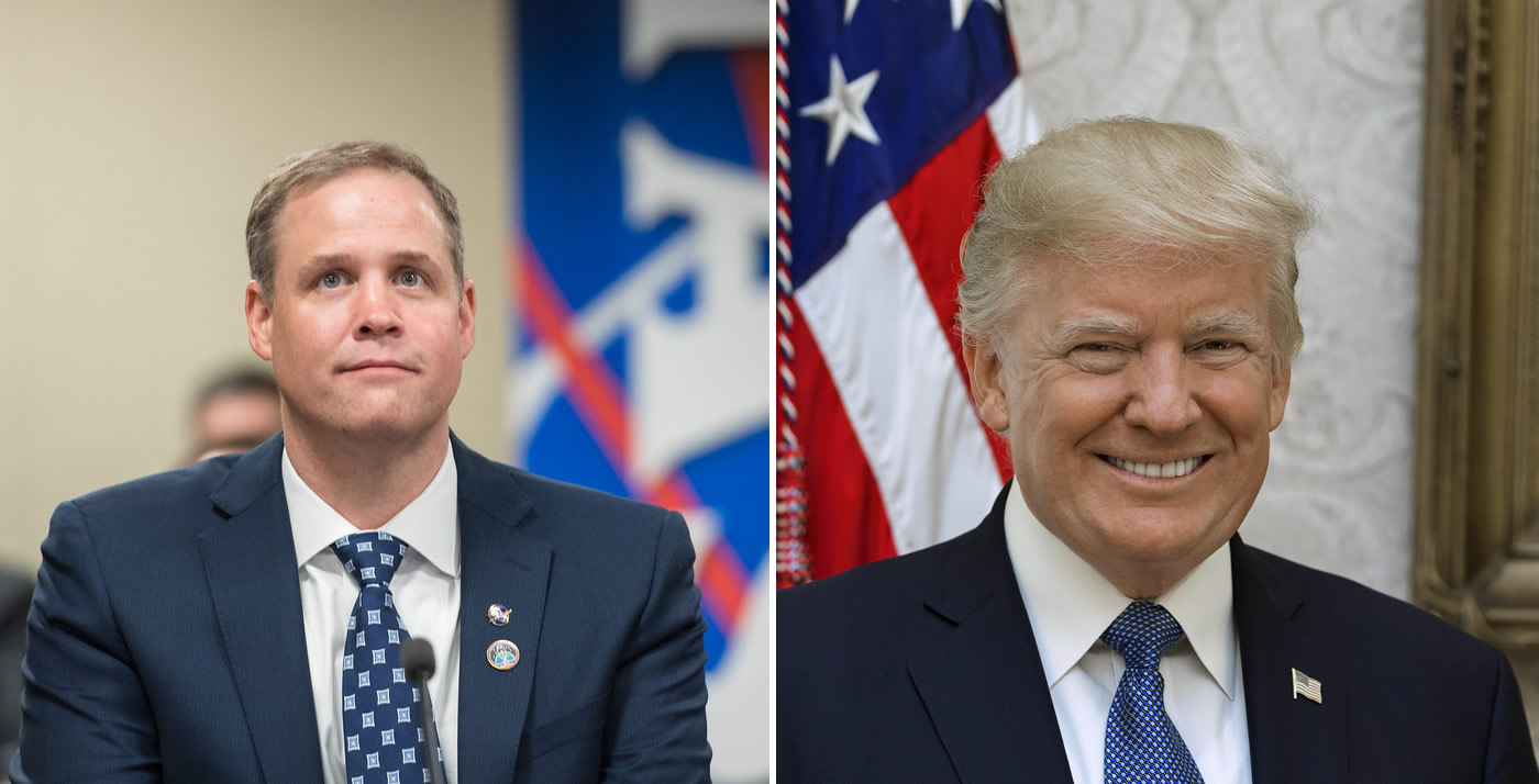 Šéf NASA Jim Bridenstine