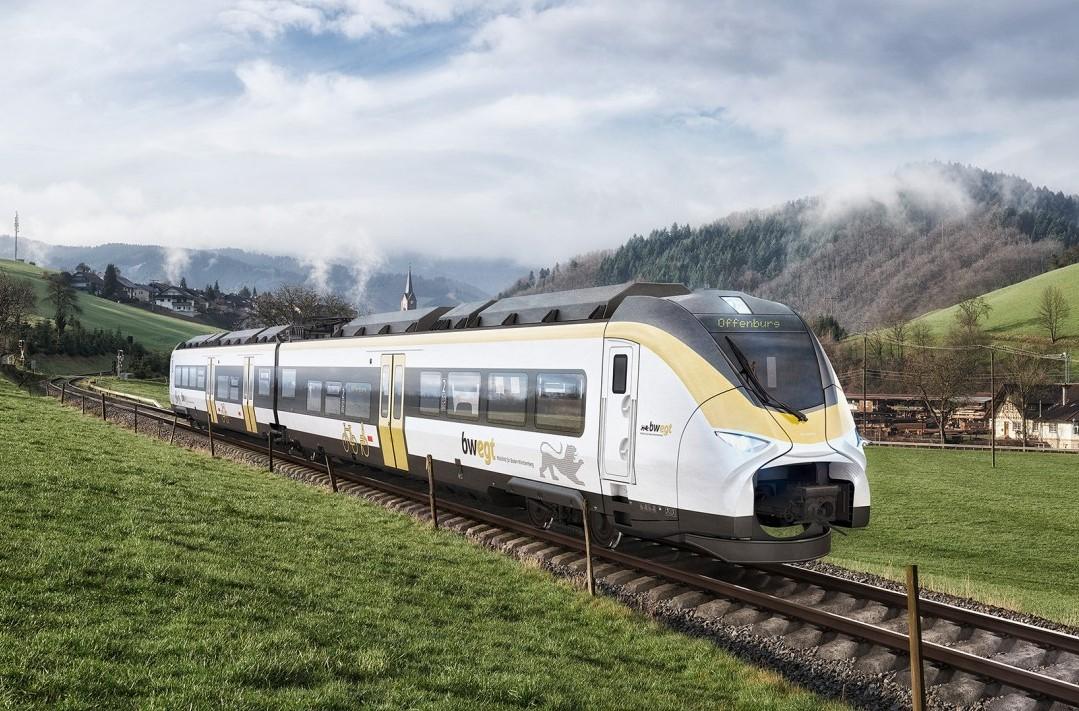 vlak na vodik