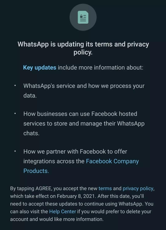 whatsapp upozornenie
