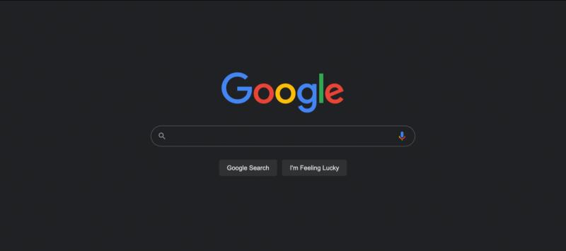 google vyhladavanie tmavy rezim tit