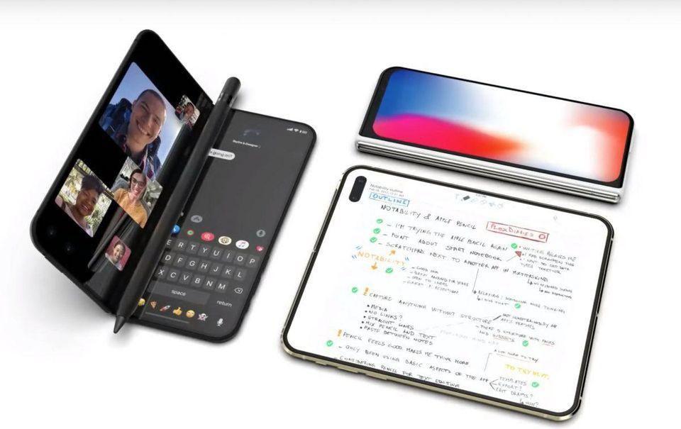 Apple skladací iPhone