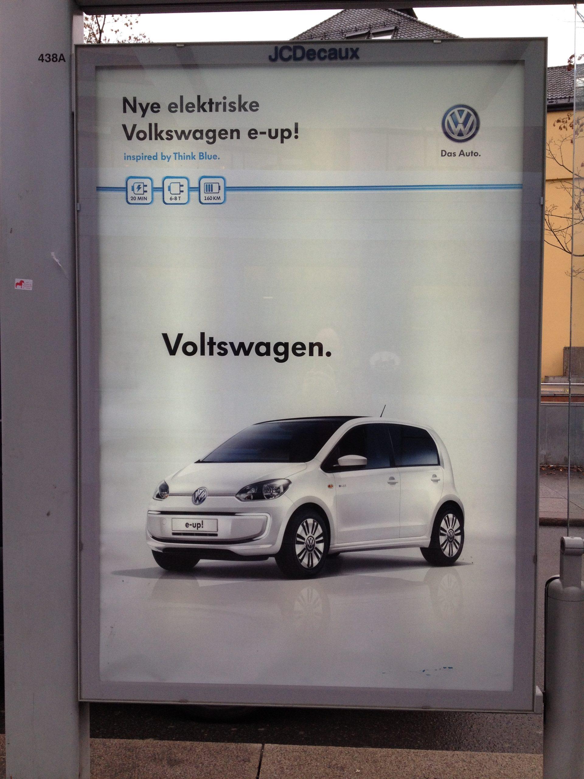Volkswagen a označenie Voltswagen