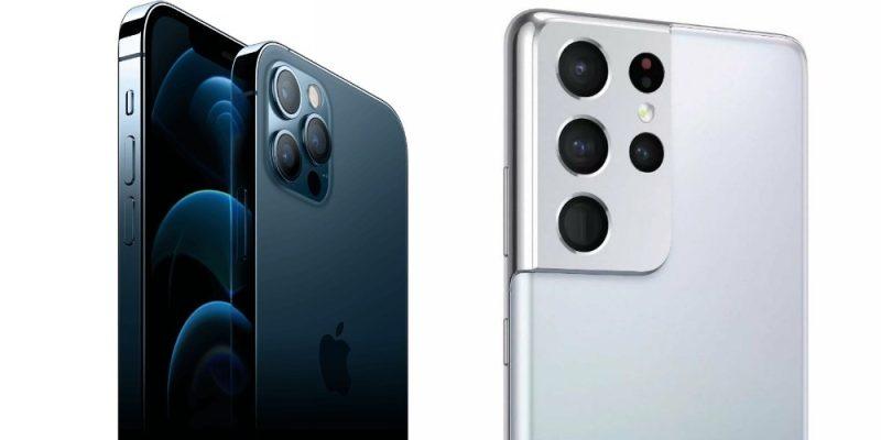iphone 12 vs S21 ultra